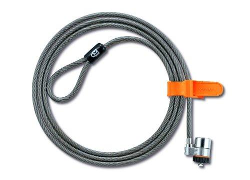 Kensington MicroSaver® Laptopschloss/Kabelschloss mit Master-Key, 1,8m, 25Kabelschlösser