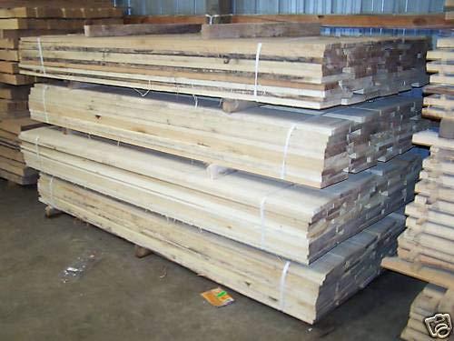 10ピース ボードフィート 4/4 キルン乾燥 FAS メープル材木