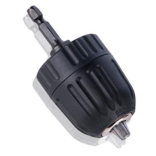 Schnellspannbohrfutter 0.8–10mm JTENG Bohrfutter Schnellspann 3/8-24UNF Sechskantschaft Bohrfutter mit 1/4 Hex Chuck Adapter