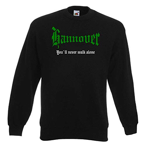 Hannover Herren Sweatshirt You`ll Never Walk Alone