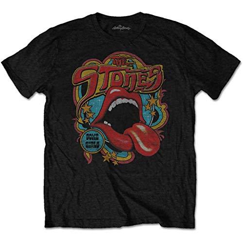 Rolling Stones The Retro 70s Vibe' (Black) T-Shirt (x-Large)