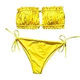 Bikinis Mujer 2020 Brasileño Push up Sexy Bikini de Tres Puntos con Estampado Mujeres Conjunto de...