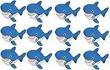 Rhode Island Novelty 2.75 Inch Rubber Water Squirting Sharks, One Dozen
