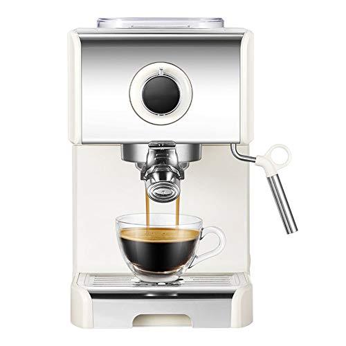 Koffiezetapparaat, Semi-automatische Italiaanse en commerciële, Kleine Steam melkopschuimer, Constant Temperature Technology, Low Noise, 1250W, Instant Verwarming