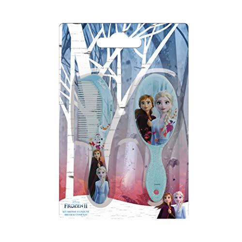 Disney Die Eiskönigin 2 Set Haarbürste/Kamm Elsa/Anna