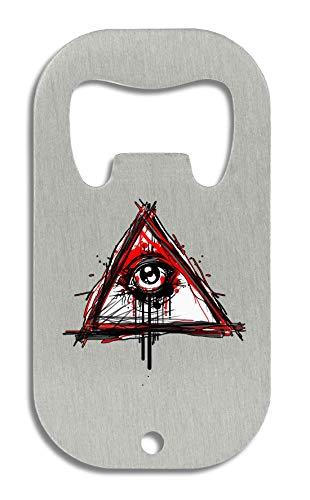 LukeTee Eye of Providence Illuminati Conspiracy Series New World Order flesopener