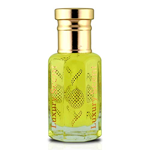 Luxury Scent Duftöl, lederig, holzig, 12 ml Roll-on-Flasche, Premium-Qualität, Unisex Attar Duft
