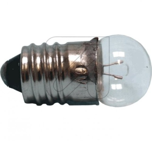 10 Stück Kugellampe E10 3,5V 0,2 A Glühlampe Glühbirne