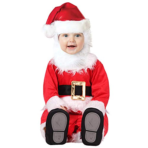 Hug Me Toddler Baby Infant Santa Claus OneSize Dress up Toddler Christmas Costume (100CM (19-24 Months)), Red