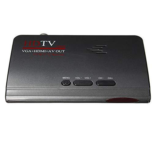 SZDZ Digital mundano HDMI 1080P DVB-T / T2 TV Caja VGA AV...