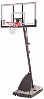 Spalding Polycarbonate Hercules Junior Portable Basketball System, 44-in