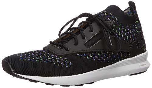 Reebok Zoku Runner HM Chaussures de Sport pour Homme Asteroid poussière, Noir/Blanc, 45 EU - Noir - Noir Vital Blue Vicious, 39.5 EU