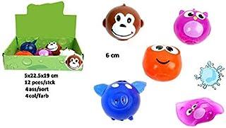 COOLMP Lot de 6 - Balle Splash Animal Mix 6cm