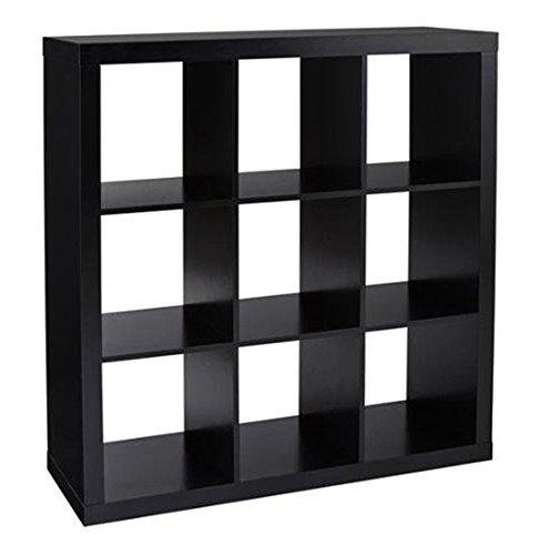 12 Cube Organizer | Set of Storage Cubes Included | DIY Closet Organizer Bins | Cube Organizers and Storage Shelves Unit | Closet Organizer for Bedroom, Playroom, Livingroom, Office, Dorm (Grey)