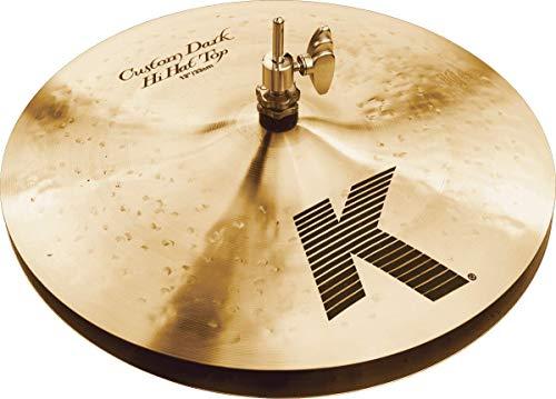 "Zildjian K Custom Series - 13"" Dark Hi-Hat Cymbals, usado segunda mano  Se entrega en toda España"
