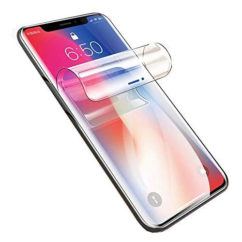"""SOMEFUN【2 Pezzi】Alta Sensibilità Protezioni per lo Schermo Compatibile con iPhone XS Max (6.5"""") Pellicola in Idrogel Protettiva in TPU Morbido [Non Vetro Temperato, Trasparente]"""