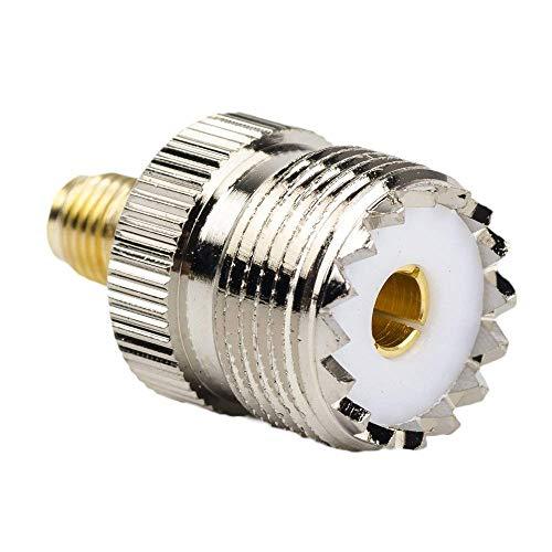 OxoxO SMA Vrouwelijke naar UHF Vrouwelijke SO-239 SO239 Connector RF Coaxiale Adapter voor Baofeng UV5R en GT3-TP Radio's PL259 naar Base Station Antenne