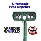 Best Animal Repellers - Ultrasonic Pest Repeller by Wide World - Solar Review