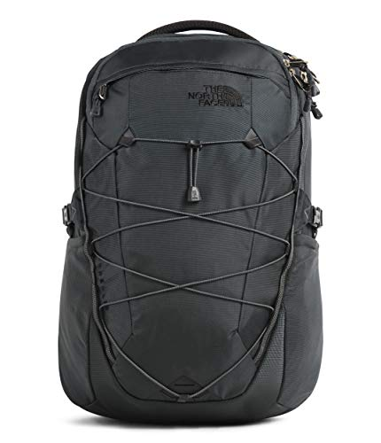 The North Face Borealis Backpack, Night Green/Canary, One Size