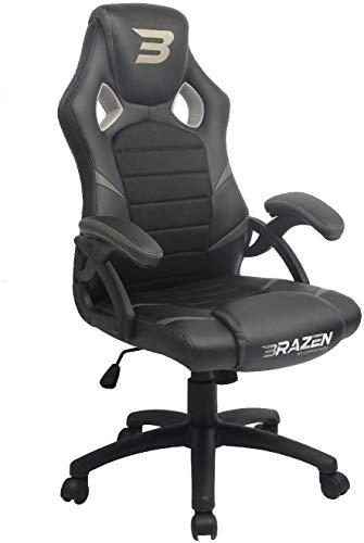 BraZen Puma PC Gaming Chair - Grey
