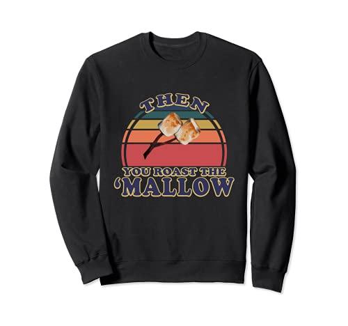 Smores Marshmallow Retro S'mores Group Disfraz de Halloween Sudadera