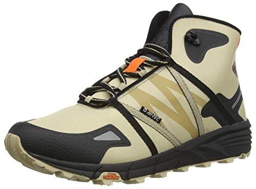 Hi-Tec V-Lite Shift I+, Zapatillas para Caminar Hombre, Desert Tan Negro Rojo Naranja, 46 EU