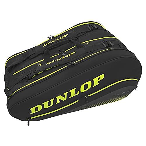Dunlop Sx Series Thermo Tennistasche, schwarz/gelb, 8-Racquet