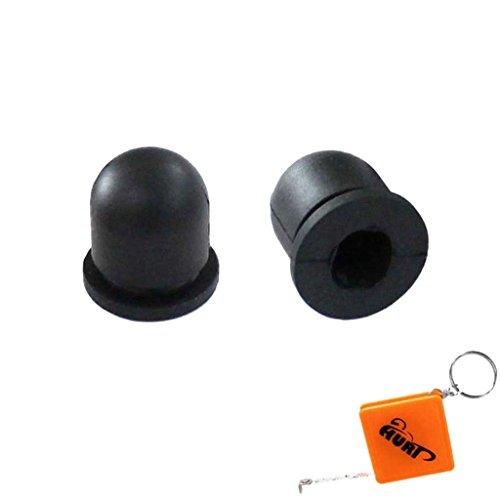 HURI 2 Stück Primer Pumpe Benzinpumpe passend für Stihl Motorsense FS80 FS80AV Typ 4112 für Vergaser altes Modell Ersetzt 4112 358 2500