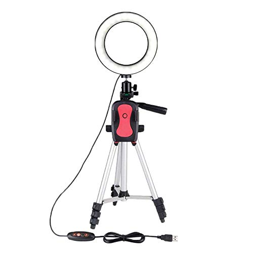 ZHTY Ringlight Ring Light Dimmable Video studio Selfie Photography Lighting On Youtube Live Streaming For iPad With Tripod SONG