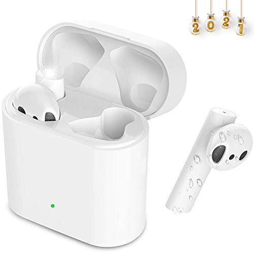Bluetooth sluchátka, In Ear Kabellos Kopfhörer Bluetooth 5.0 Wireless Earbuds, HiFi Stereo Bluetooth kopfhörer Sport, IPX7 Wasserdicht ohrhörer pro iPhone/Android/Samsung/Huawei