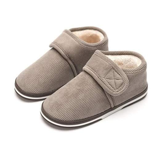 AYDQC Zapatos de la Plataforma de Invierno Mujeres al Aire Libre Zapatillas para Casas de Invierno Hembra Diapositivas de Invierno Casa Sandalias Fuzzy Slippers Ladies (Color : A, Size : Code 45)