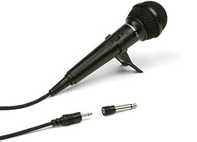 Samson SCR10S Karaoke Dynamic Vocal Microphone with On/Off Switch