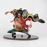 Anime One Piece Marshall D Teach Barbanera Action Figure, Collezione Di Figure In Pvc Modello Giocattoli Bambola 15 Cm