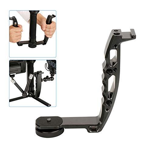 Gimbal Grip L - Soporte para Grifo de aleación de Aluminio con Rosca 1/4 para Zhiyun Crane 2 Crane Plus Crane M V2 Series dji Ronin-S, estabilizador de Gimbal de Mano