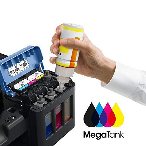 Canon PIXMA G2501 MegaTank Drucker nachfüllbares Tintenstrahl Multifunktionsgerät DIN A4 (Drucken, Scannen, Kopieren, 4.800 x 1.200 dpi, USB, große Tintentanks, niedrige Seitenkosten), schwarz