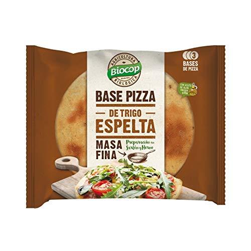 Biocop Base Pizza Masa Fina Espelta 390 Gr Envase De 390 Gramos 400 g
