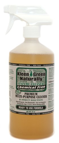 Kleen Green 24oz Non Toxic Spray Assist's in The Removal of Invisible Biting Mites, Bird Mites, Scabious Mites, Dust Mites, Fleas, lice & Itchy Skin Problems
