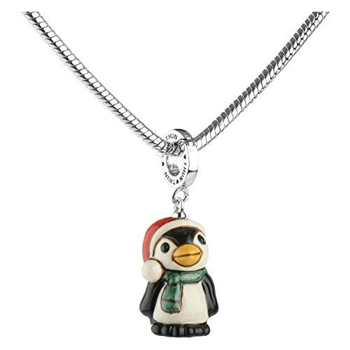 THUN ® - Charm Special Icon Pinguino - Ceramica -