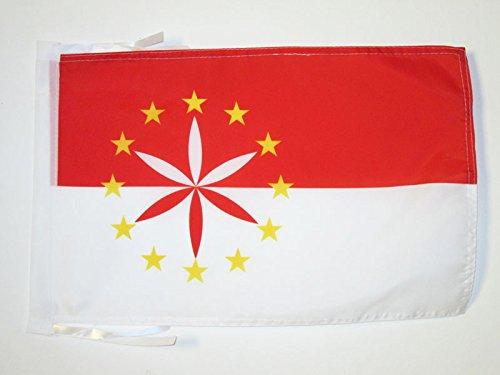 AZ FLAG Flagge ARPITANISCHE 45x30cm mit Kordel - FRANKOPROVENZALISCHE Fahne 30 x 45 cm - flaggen Top Qualität
