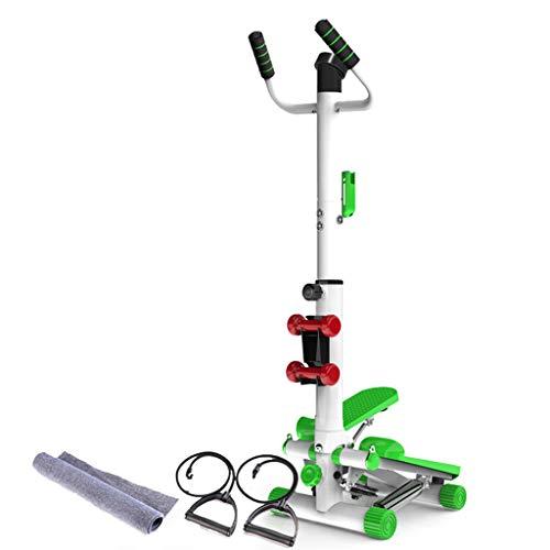 GULU Handrail Stepper, Home LED Display Mute Opvouwbaar, Afslanken Mooie Benen Heup Heup, Multifunctionele Fitness Apparatuur voor Mannen Vrouwen