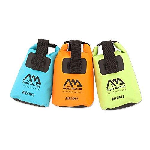 Aqua Marina Bolsa Seca MINI Impermeables Mochila Bolsillo Bolso marinero Bolsa Kayak Canoa 7.5 l - Green
