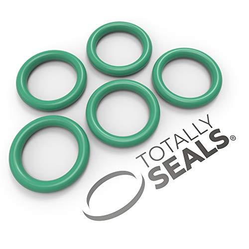 VITON FKM O-Ringe aus Gummi, 6 mm x 2,5 mm (11mm Außendurchmesser), 75 A Shore Härte – Packungsgröße wählbar