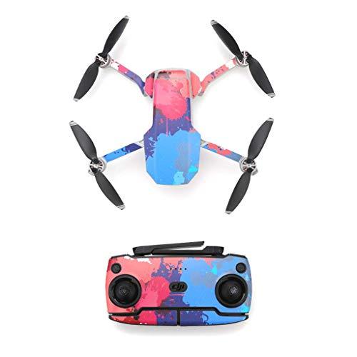 SM SunniMix Drone Skin Cover Drone Shell Wrap Decorazione Drone per DJI Mavic - DC02, 205X165mm