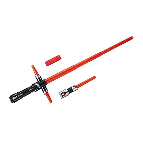 Star Wars 8 Sable electrónico Kylo REN, Multicolor (Hasbro