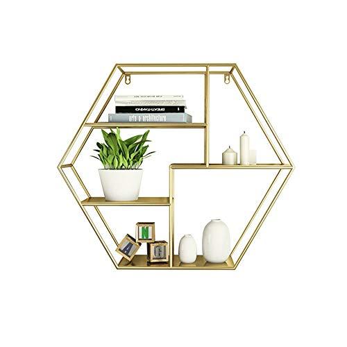estanterias hexagono