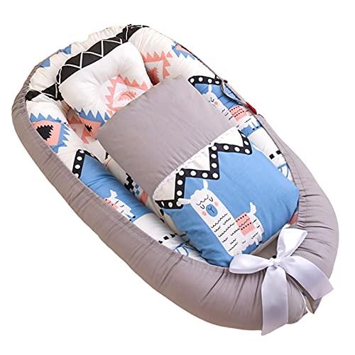 Ecoticfate - Colchón reductor para cuna de bebé, de algodón, reductor para cuna de bebé, para bebé, bebé, bebé, bebé, bebé, bebé, bebé, bebé, bebé, bebé, bebé, bebé, cojín portátil
