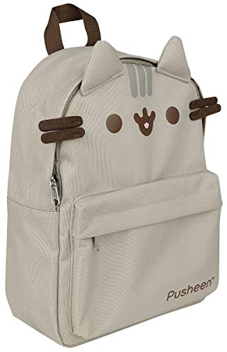 Pusheen Mini Backpack for Girls | 30 x 22 x 14 cm | Fully Adjustable Padded Straps | Back to School | Girls School Bags | Girls Gifts | Pusheen the Cat | Rucksack | Cute Things | Large Backpack