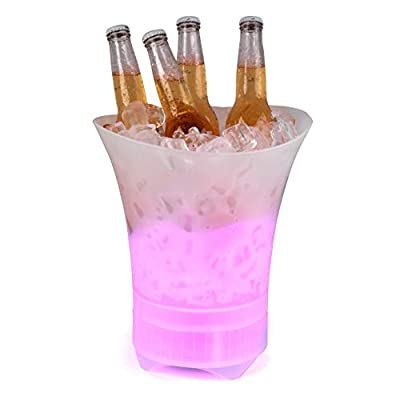 Intempo® EE4938STKEU Party Ice Bucket with Bluetooth Speaker  10 W   Colour Changing Lights   Up to 6 Hours Play Time   Rechargeable from Intempo