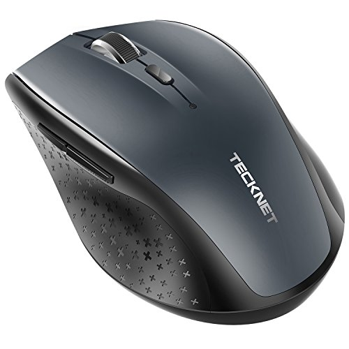 TECKNET Bluetooth Wireless Mouse, 5 Adjustable DPI Levels,...