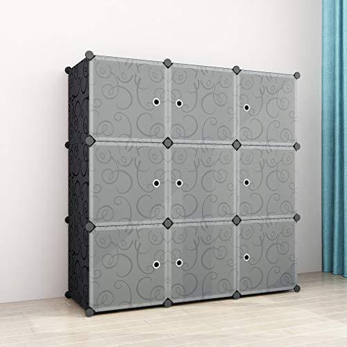 SIMPDIY Estantes Organizadores Almacenamiento 9 Cubos